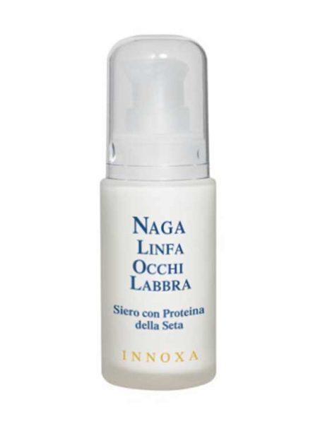 LINEA NAGA Elisir di giovinezza  - Linfa Occhi e Labbra Siero con proteina della seta Sericina al 7%